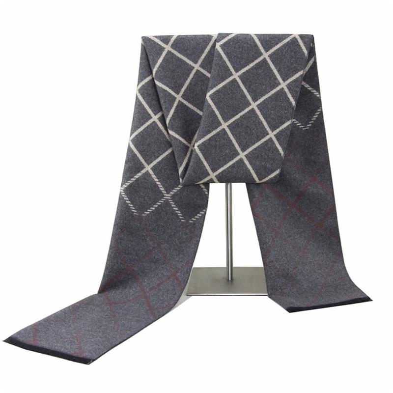 Мужские шарфы, осенние и зимние шарфы, имитация кашемира шарфы, теплые шарфы, зимние мужские деловые шарфы, шарфы для мужчин