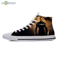 custom spring autumn canvas shoes chris evans high quality handiness flats mens casual shoes comfortable big white zapatillas