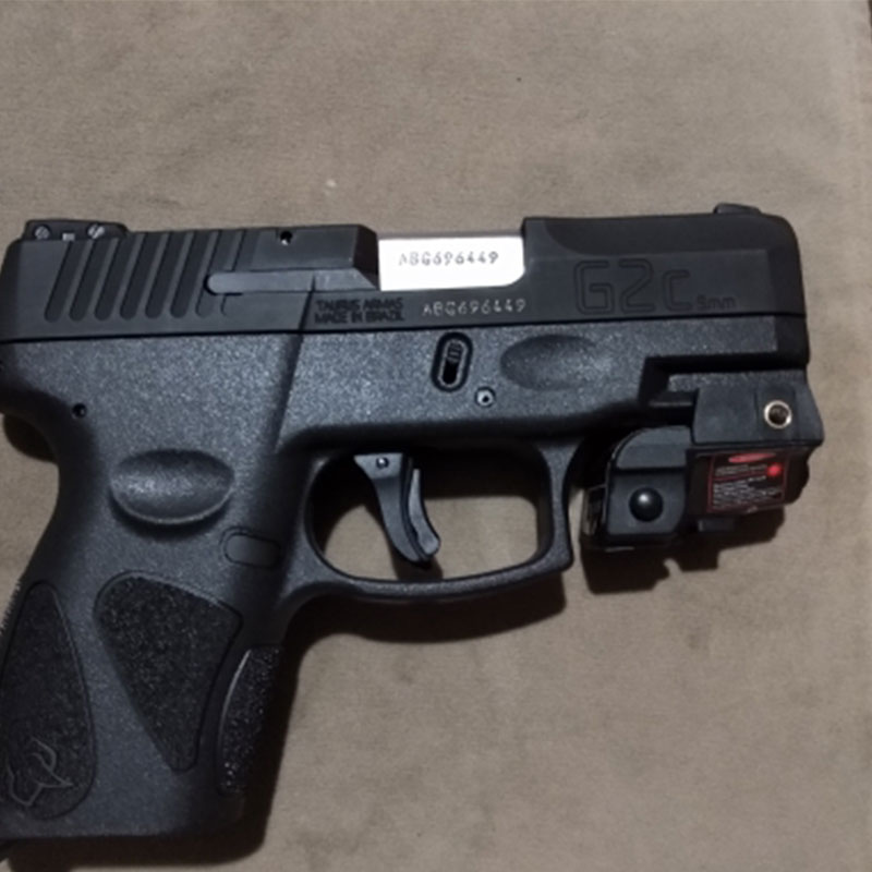 Rechargeable Pistol Handgun mira laser g2c taurus acessórios laser sight green defense gun weapons for hunting