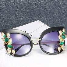 Lunettes de soleil oeil de chat tendance produit 2020 femmes lunettes de soleil marque concepteur nuances pour femmes plage soleil ombre Sonnenbrille Vintage