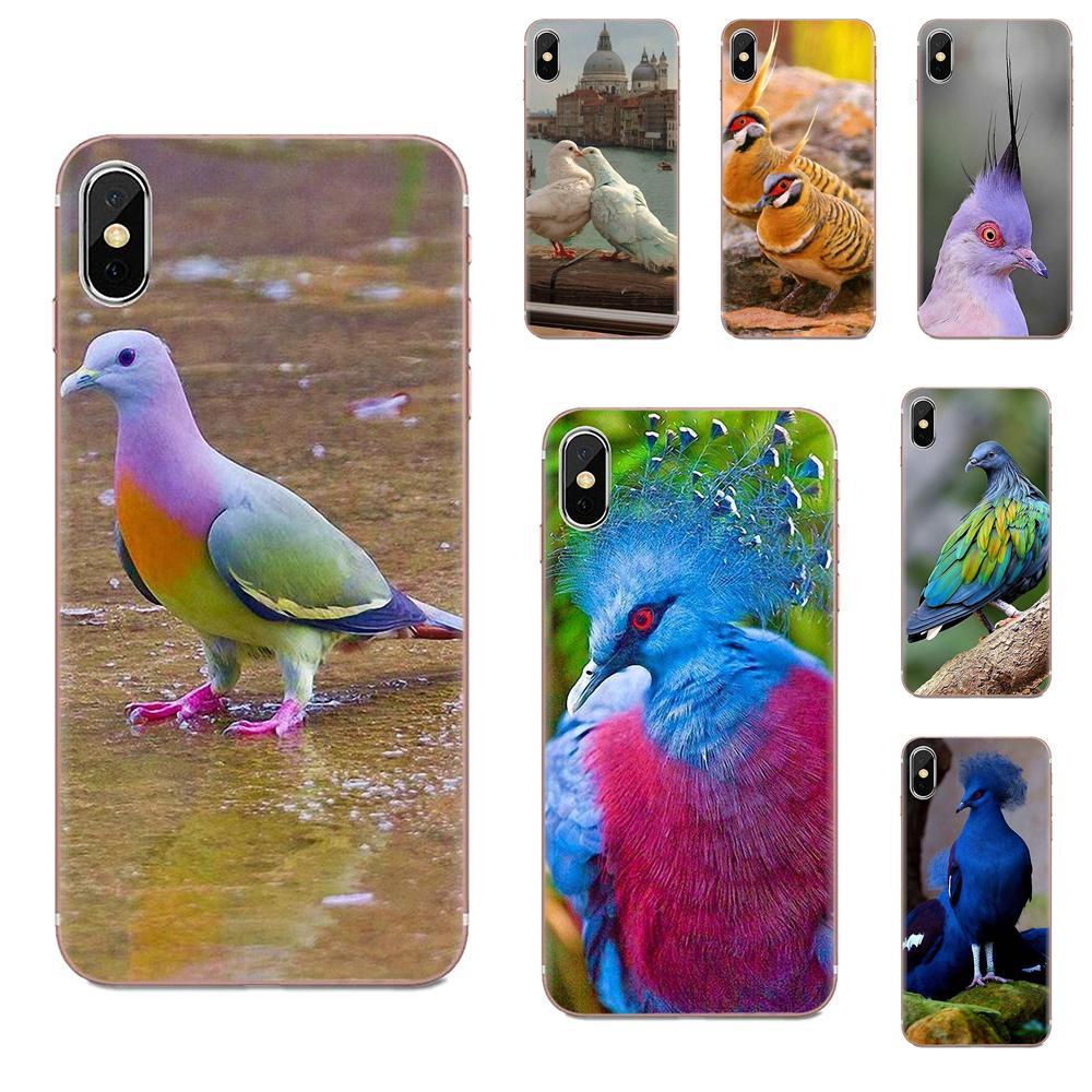 Carcasa paloma Pastel pájaro hermoso gratis para Motorola G G2 G3 G4 G5 G6 G7 Plus para Xiaomi Redmi Note 8 8A 8T 10 K30 5G Pro