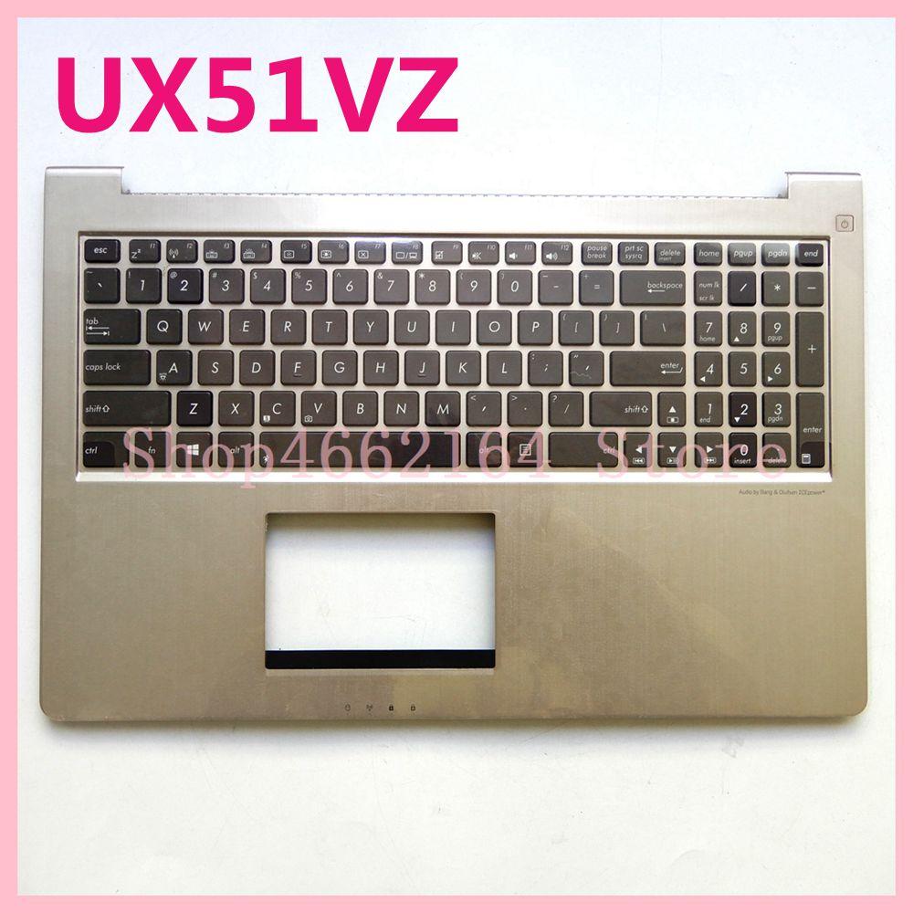 Nuevo teclado UX51VZ para ordenador portátil Asus UX51 UX51V UX51VZ UX51VZH con cubierta de retroiluminación C