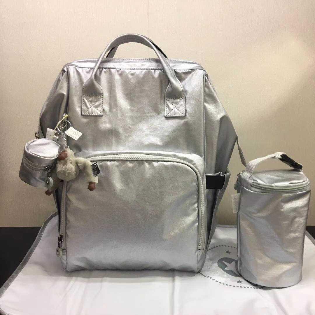 حقيبة ظهر فاخرة بتصميم الحفاضات للأمهات حقيبة ظهر أصلية من bolsa monkey نايلون حقيبة كتف نسائية للحفاضات في الهواء الطلق حقيبة كتف mochila sac