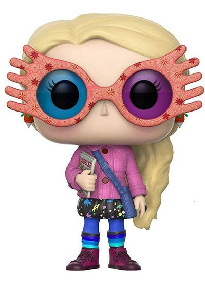 Luna Lovegood with Glasses 10cm Vinyl Doll Action Figure Collection Model Toys
