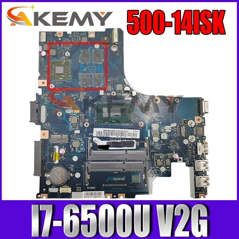 تنطبق على 500-14ISK لوحة أم للكمبيوتر I7-6500U VGA(2G) عدد LA-C851P FRU 5B20K34549 5B20K34570 5B20K34559
