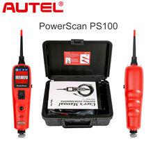 Outil de diagnostic Autel, outil de diagnostic de système électrique PowerScan PS100 testeurs électriques et fils de Test outils de réparation de voiture