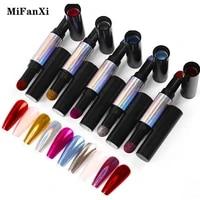 two color mirror nail powder pen chameleon auroras holographics powder glitter shimmer nail art decorations