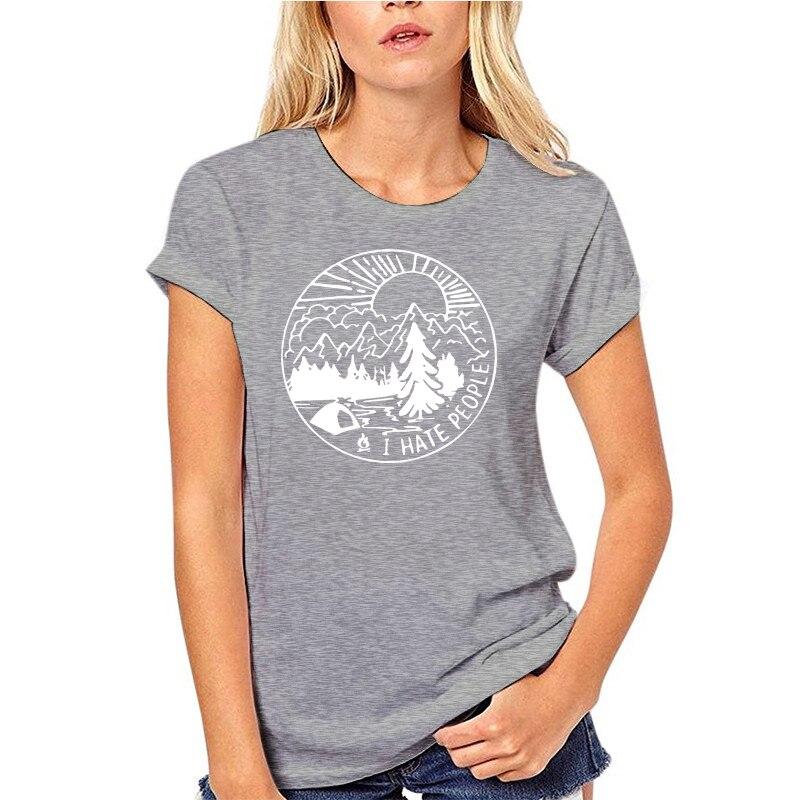 Camiseta para acampar odio people camiseta para el aire libre regalo para...