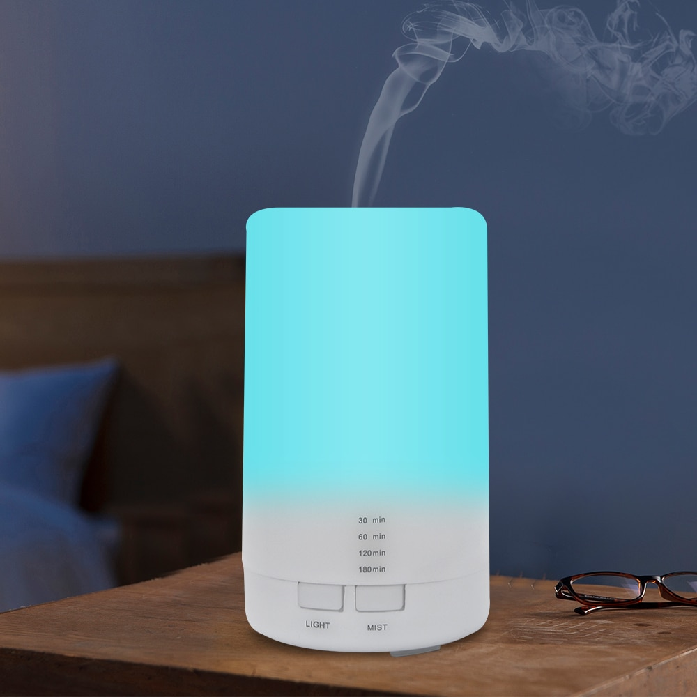 Mini Air Ultrasonic Humidifier USB Charging 5Color Led Night Light Aromatherapy Essential Oil Aroma Diffuser For Home Car Office elephant humidifier usb charging colorful night light mini humidifier aromatherapy machine