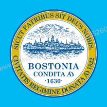 Massachusetts Boston Flag 3 x 5 FT 90 x 150 cm USA States City Flags Banners America