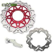 BIKINGBOY-disque de frein avant arrière   Support de freins, 125 R 250 R 250 R 04-14 CRF 450X250-450, 2004mm