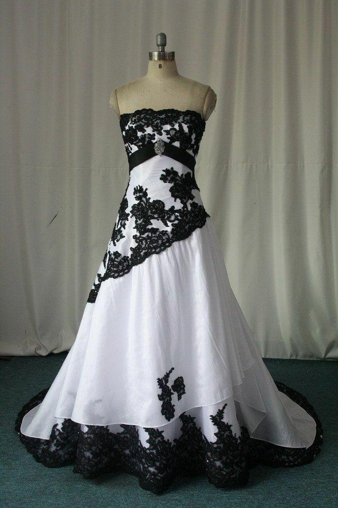 A Line атласное свадебное платье аппликация кружева без бретелек пол длина корт Свадебное платье с длинным подолом