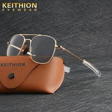KEITHION Classic Men Army MILITARY Aviation Style Polarized Sunglasses Driving Brand Design Sun Glas