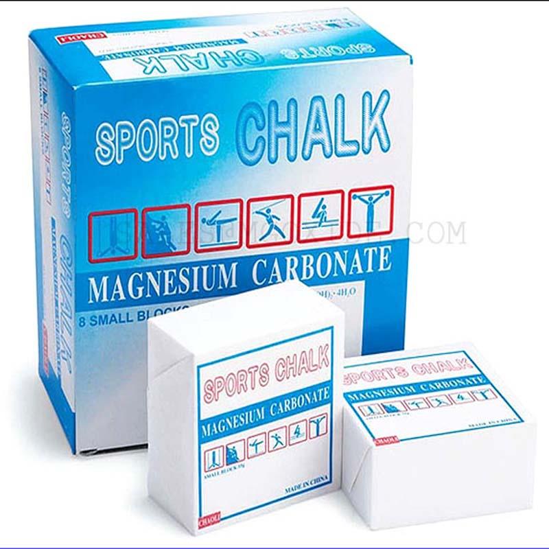 Anti-skid 8pcs Weightlifting Magnesium Powder Sports Chalk Block Rock Climbing Gymnastics Dumbbells Gym Equipme Non-slip