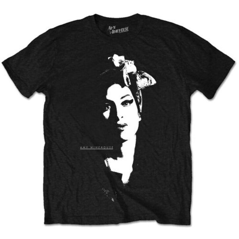 Amy winehouse voltar para preto frank oficial homem unisex camisa