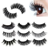 30 3pair 3d mink eyelashes makeup false eye lashes natural long thick false eyelashes extension tools fake eyelashes cosmetics