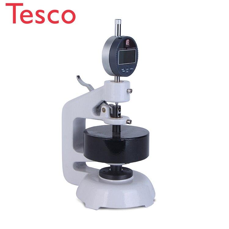YT-H18 fabricantes de máquinas Hangzhou micrómetro digital medidor de espesor de tela de plástico