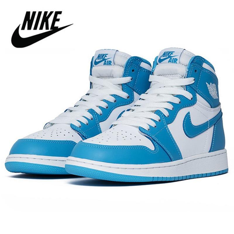 SCHNIKE Air Jordan 1 Basketball Shoes Mid High Top Sneakers for Men and Women Casual Walking