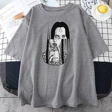 Maglietta da donna con stampa di ragazze velenose magliette oversize estive magliette girocollo stile moda camicie da donna a maniche corte