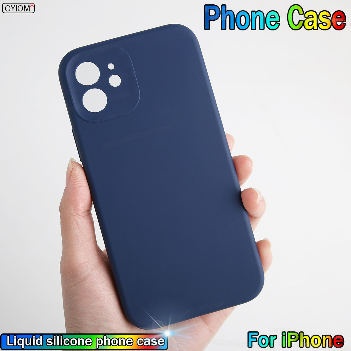Original Liquid Silicone Luxury Protective Case For iPhone 12Pro 11 Pro Max 6 S 7 8 X Xs Xr Plus SE