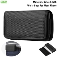oxford fabric phone cover pouch for lg g g2 g3 g4 g5 g6 g7 g8 g8s q6 q7 q9 q60 v10 v20 v30 v40 v50 v35 flip waist bag cover case