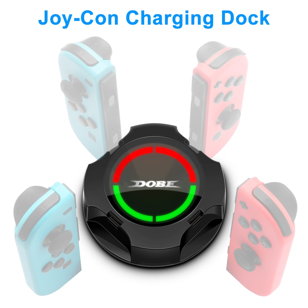 4 In 1 USB Controller Charger LED Indicator Charging Dock Station for Nitendo Switch Nintend switch NS Joy-con Accessories