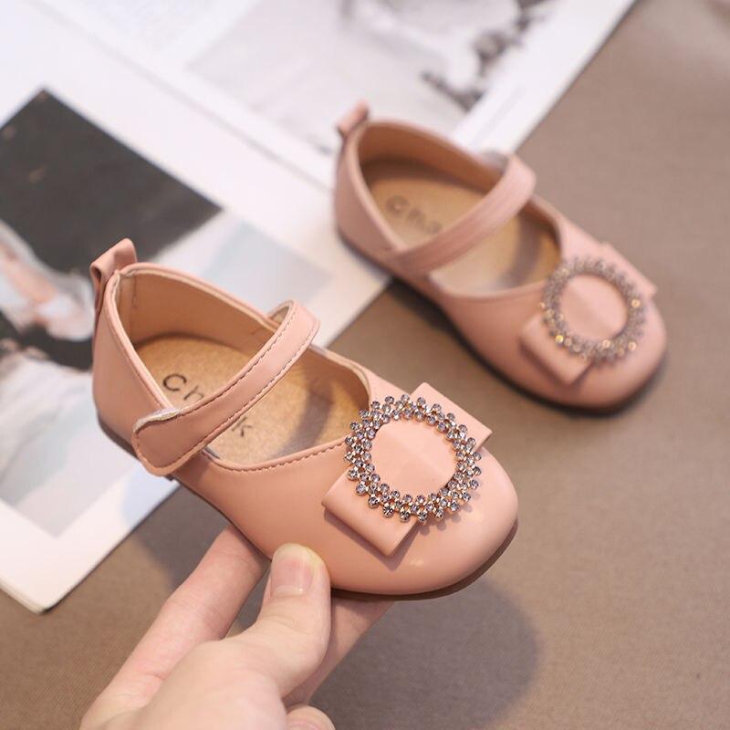 Детская обувь для девочек, обувь принцессы, демисезонная детская обувь, нескользящая детская обувь, модная танцевальная обувь, Студенческа...