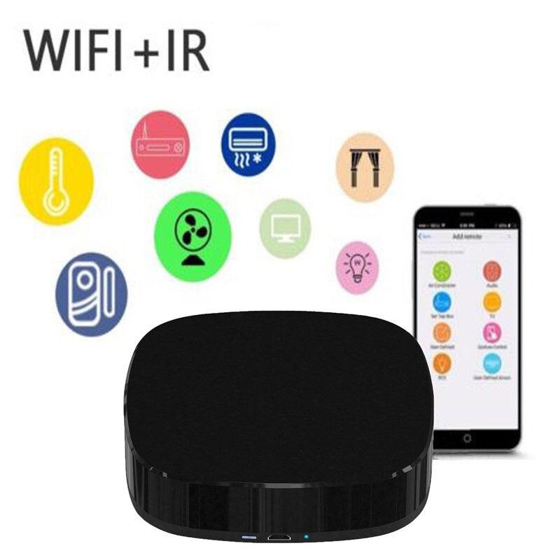 Mando a distancia inteligente Universal para Alexa, IFTTT, Wifi, compatible con Control por voz y Cable de carga para aplicaciones Ios y Android