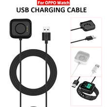 1m USB Charging Dock Cable for OPPO Smart Watch 41mm 46mm Replacement Cord Charger Adapter Smart Wristband Accessories