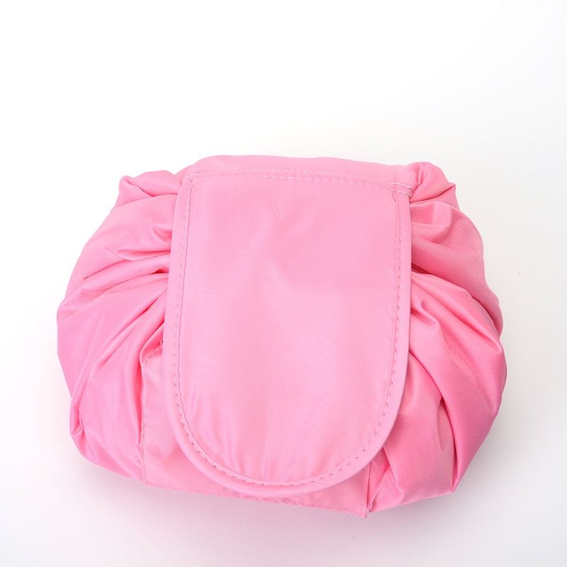 Drawstring Make Up Bag High Quality Women Makeup Bags Necessaries Toiletries Organizer Waterproof Storage Cosmetic Case