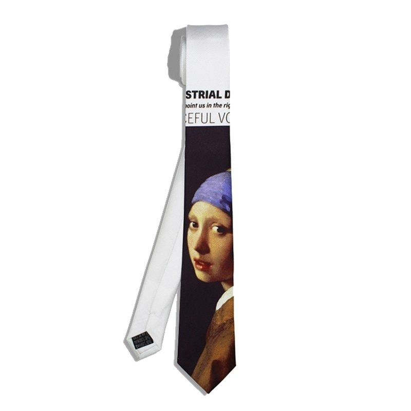 Original Design Branded Men Neckties High Quality Cotton Printed Casualy Party Ties For Boys And Girls Groom Neckties