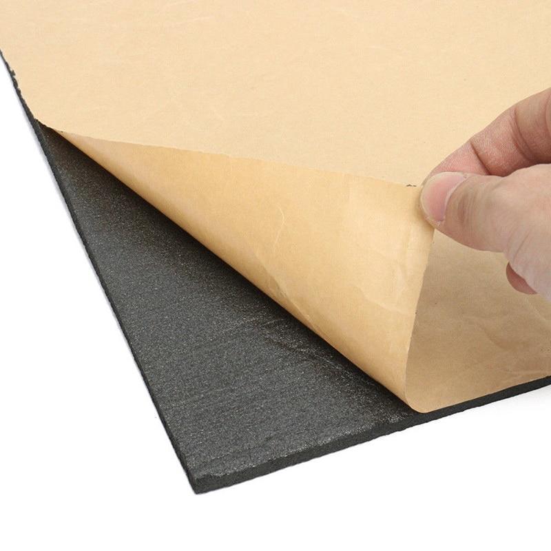 30x50cm Auto Firewall Ton Wärme Isolierung Trittschalldämmung Auto Schallschutz Selbst Self Adhesive Auto Foam Self Adhesive