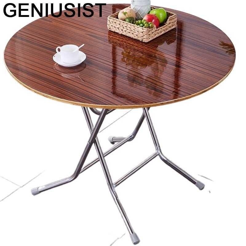 Yemek-Mesa De Comedor Plegable para la cocina, mueble De Comedor Plegable para...