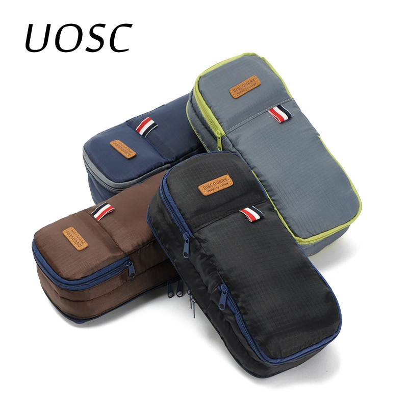 UOSC 2019 Travel Cosmetic Bags Organizer Portable Makeup Bags for Women Men Make Up Case Men Toiletr