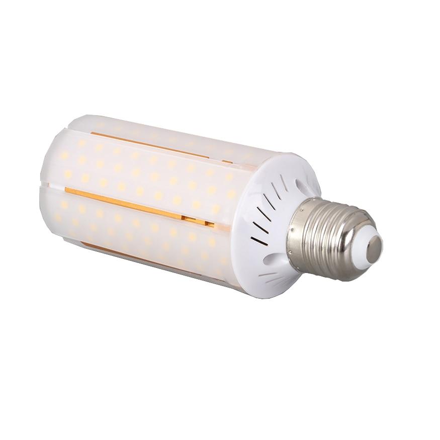 1 unids/lote cubierta lechosa smd 2835 2800lm AC220V 30w E27 E14 bombillas led tipo mazorca luz blanca cálida y fría para Casa de Niños