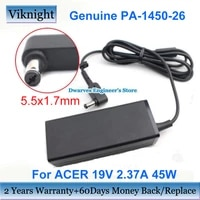 genuine pa 1450 26 19v 2 37a 45w laptop adapter charger for acer aspire es1 512 es1 711 aspire adp 45he b a13 045n2a ac power