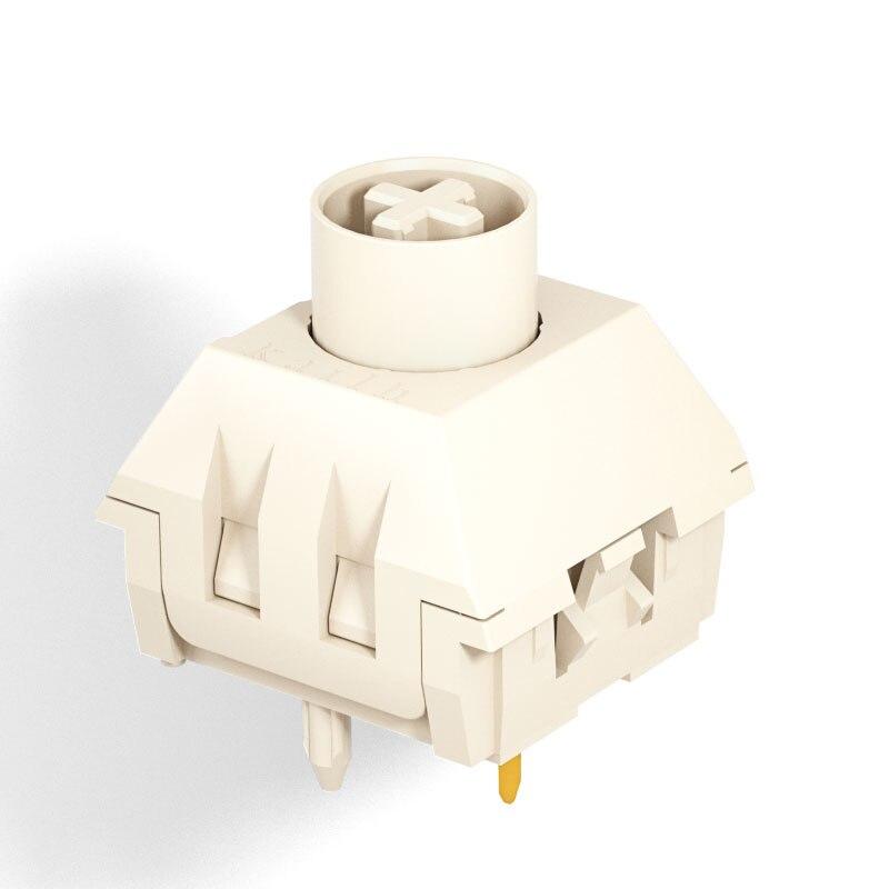 Kailh BOX кремовый механический переключатель клавиатуры лайнер hangfeeling MX Переключатель 5pin POM материал водонепроницаемый и пыленепроницаемый