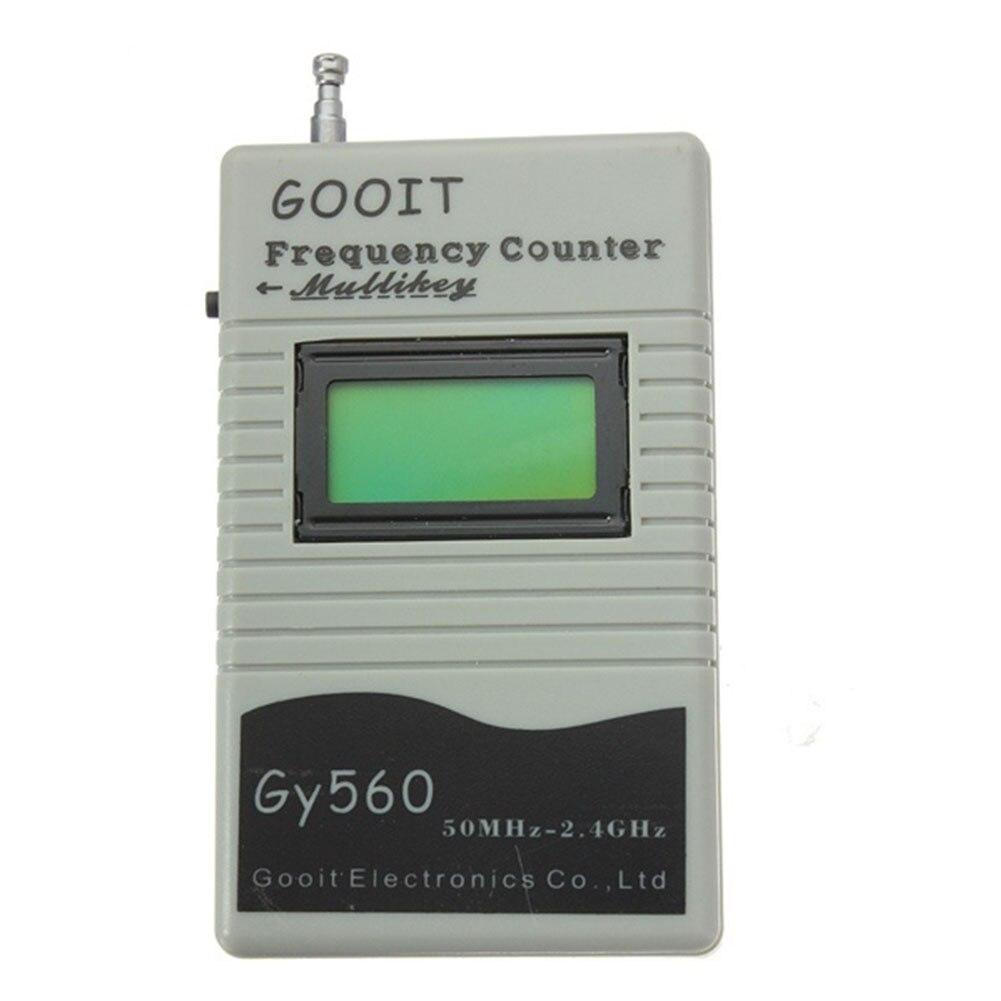 GY-560 decodificador teste de áudio portátil display lcd eletrônico walkie talkie profissional rádio prático contador freqüência