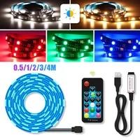 led light strips bluetooth wifi controller flexible rgb 5050 decoration backlight lamp night light luminous string for bedroom