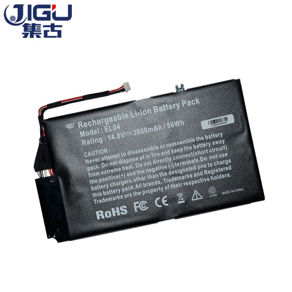 JIGU 3CELLS Laptop Battery 681879-171 681949-001 EL04 EL04XL TPN-C102 HSTNN-IB3R For HP ENVY 4 Serie