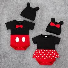 Peleles de Mickey para bebé, ropa para bebé, ropa de Disney para bebé, ropa Unisex para bebé, bebé, niña, Minnie, mono de moda de dibujos animados