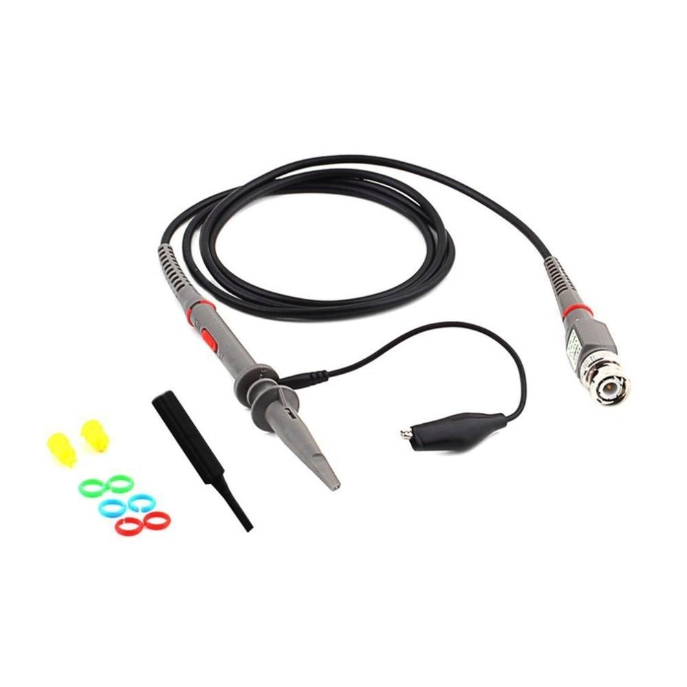 Conjunto Nuovo Arrivo 1 di Alta Qualidade P6100 Oscilloscopio DC-6MHz Dc-Ambito Sonda Sonda Clipe Por Para Tektronix HP vendita calda