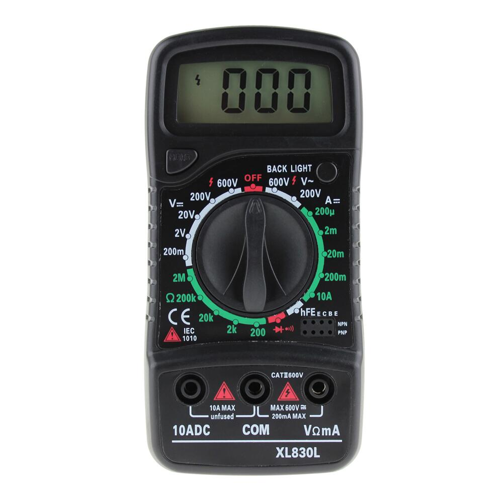 Aneng XL830L Digitale Multimeter Meter Testers Automotive Elektrische Dmm Transistor Piek Tester Meter Capaciteit Meter