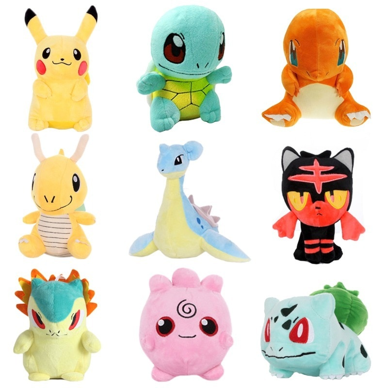 Figuras de acción de Takara Tomy Pikachu Bulbasaur, Squirtle, Charmander, Pokemon, Hobby, muñeco de Anime, regalos para niños