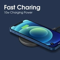 carsun wireless charger pad for iphone samsung xiaomi huawei phone usb fast wirless charging phone accessories charing dock