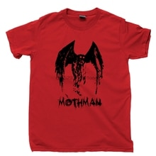 Mothman T Shirt UFO Alien Monster Jackalope Bigfoot Sighting Cryptid Hunter Tee