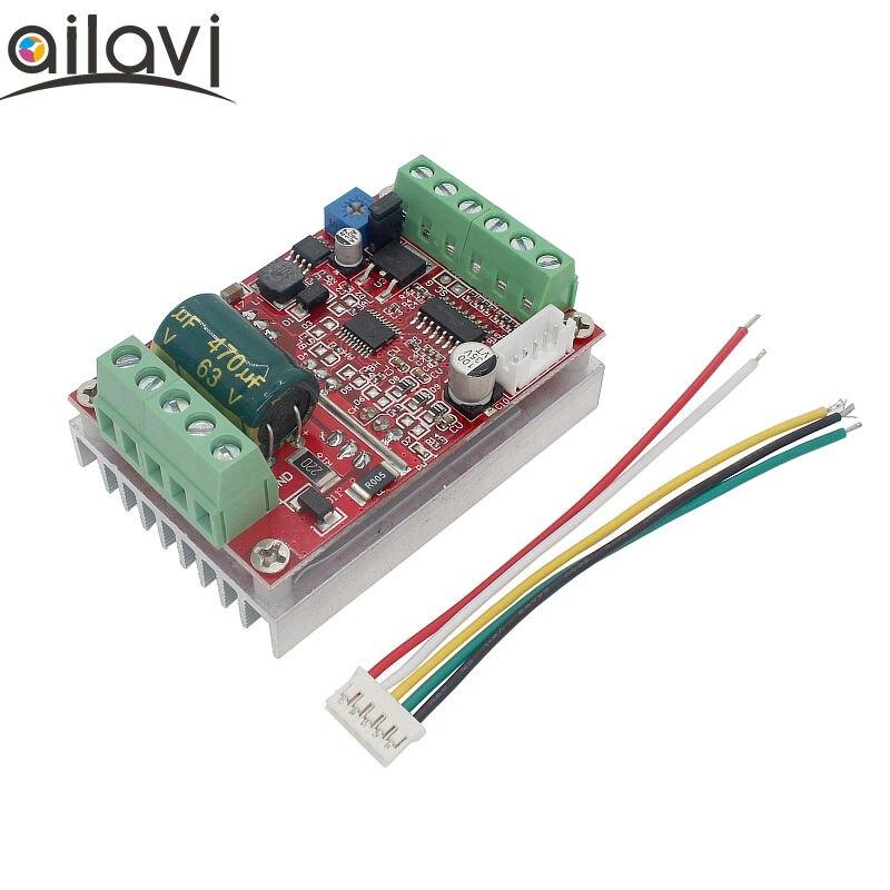 BLDC-وحدة تحكم في المحرك بدون فرش ثلاثية الأطوار ، 9-60 فولت ، 12 فولت ، 48 فولت ، 450 واط ، لوحة القيادة إلى الأمام والعكس