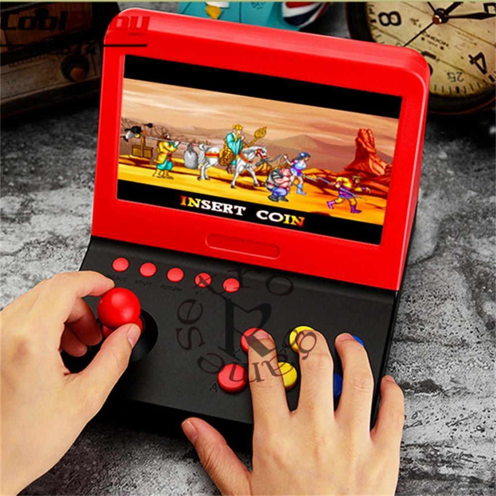 Consola de videojuegos Retro de 7 pulgadas para niños, Mini Consola de...