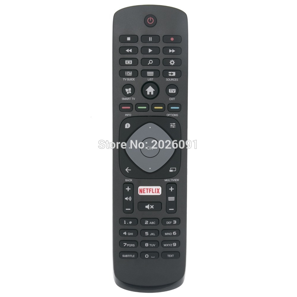 ORIGINAL NEW REMOTE CONTROL FOR PHILIPS NETFLIX TV 55PFT6200/98 55PFT6510 55PFT6510/12 55PFT6510/60 55PFT6550 55PUH640088