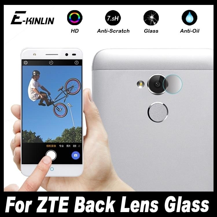 10 piezas de lente de cámara trasera protectora para ZTE Blade tiempo Go A2 L5 Plus X Max XL A520 Axon 7 mini película protectora de vidrio templado